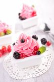 Berry ice cream Royalty Free Stock Photography