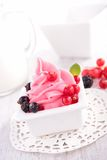 Berry ice cream Royalty Free Stock Photo