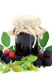 Berry jam Stock Image