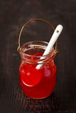 Berry jam. Royalty Free Stock Photo