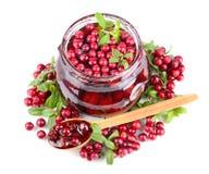 Berry jam Stock Photography