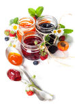 Berry jam Royalty Free Stock Image