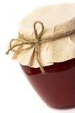 Berry jam jar Stock Photography