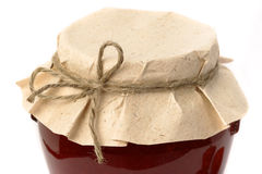 Berry jam jar Royalty Free Stock Image