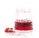 Berry Jam watercolor Stock Photo