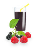Berry juice Royalty Free Stock Photography