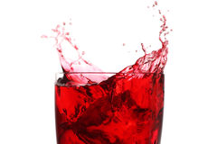 Berry juice drink Royalty Free Stock Image