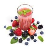 Berry juice Stock Photo
