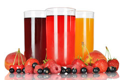 Berry juice stock image