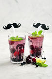 Berry lemonade Royalty Free Stock Photography