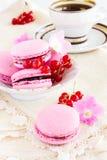 Berry macaroon Royalty Free Stock Image