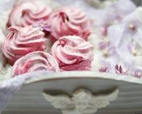 Berry marshmallow Stock Photo