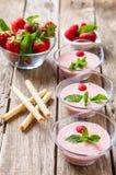 Berry milkshake Stock Photo