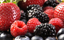 Berry mix Stock Image