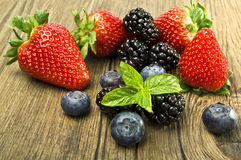 Berry Mix Royalty Free Stock Image