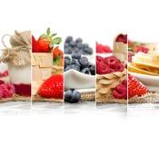 Berry Mix Slices Stock Photo
