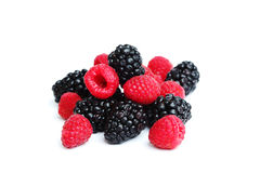 Berry mixed pile Royalty Free Stock Photos