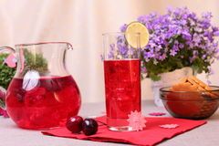 Berry mors drink Royalty Free Stock Photo