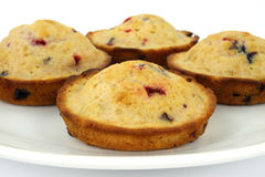 Berry muffins Stock Images