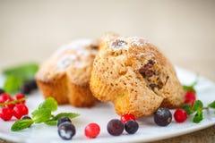 Berry Muffins Fotos de archivo libres de regalías