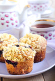 Berry muffins Royalty Free Stock Photos
