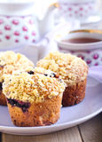 Berry muffins Stock Image