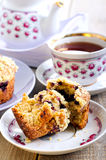 Berry muffins Royalty Free Stock Images