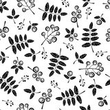 Berry. Natural background. Seamless vector pattern. Fabric Royalty Free Stock Photography