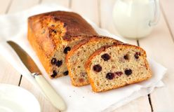 Berry and Oat Cake Loaf Royalty Free Stock Photos