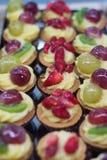 Berry pastries desserts closeup Stock Photos
