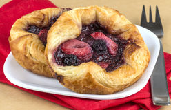 Berry Pastry Royalty Free Stock Image