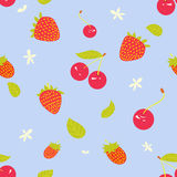 Berry pattern Royalty Free Stock Images
