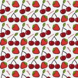 Berry pattern Royalty Free Stock Photos