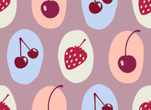Berry pattern Stock Images