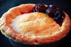 Berry Pie. Delicious Berry pie for dessert stock photo