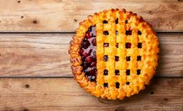 Berry Pie Imagem de Stock Royalty Free