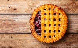 Berry Pie Royaltyfri Bild