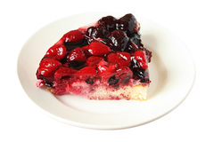 Berry pie Stock Photos