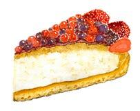 Berry Pie Royaltyfri Foto