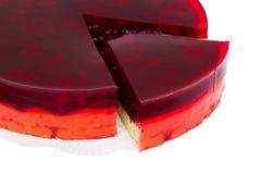 Berry pie sliced Stock Photos