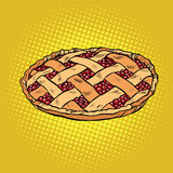 Berry pie, thanksgiving and family celebration Royalty Free Stock Photos