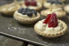 Berry pies Royalty Free Stock Images