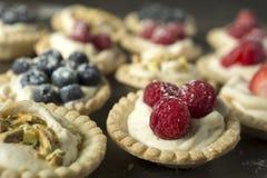 Berry pies Stock Photo