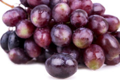 Berry of pink grapes Royalty Free Stock Photography