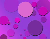 Berry polka dots. Polka dots splattered in berry shades Stock Images