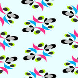 Berry psychedelic pattern Stock Images