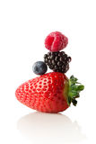 The berry pyramid of health. Stock Photos