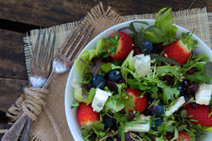 Berry Salad Stock Photos