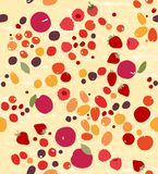 Berry seamless pattern Royalty Free Stock Images