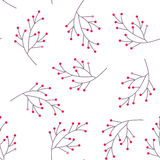 Berry seamless pattern Royalty Free Stock Photos